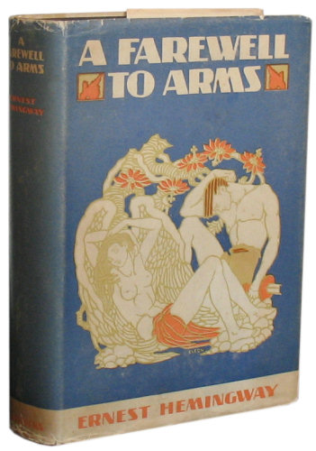 ernest hemingway a farewell to arms thesis Literary analysis - themes of love and war in a farewell to arms in his novel a farewell to arms, ernest hemingway uses parataxis extensively.